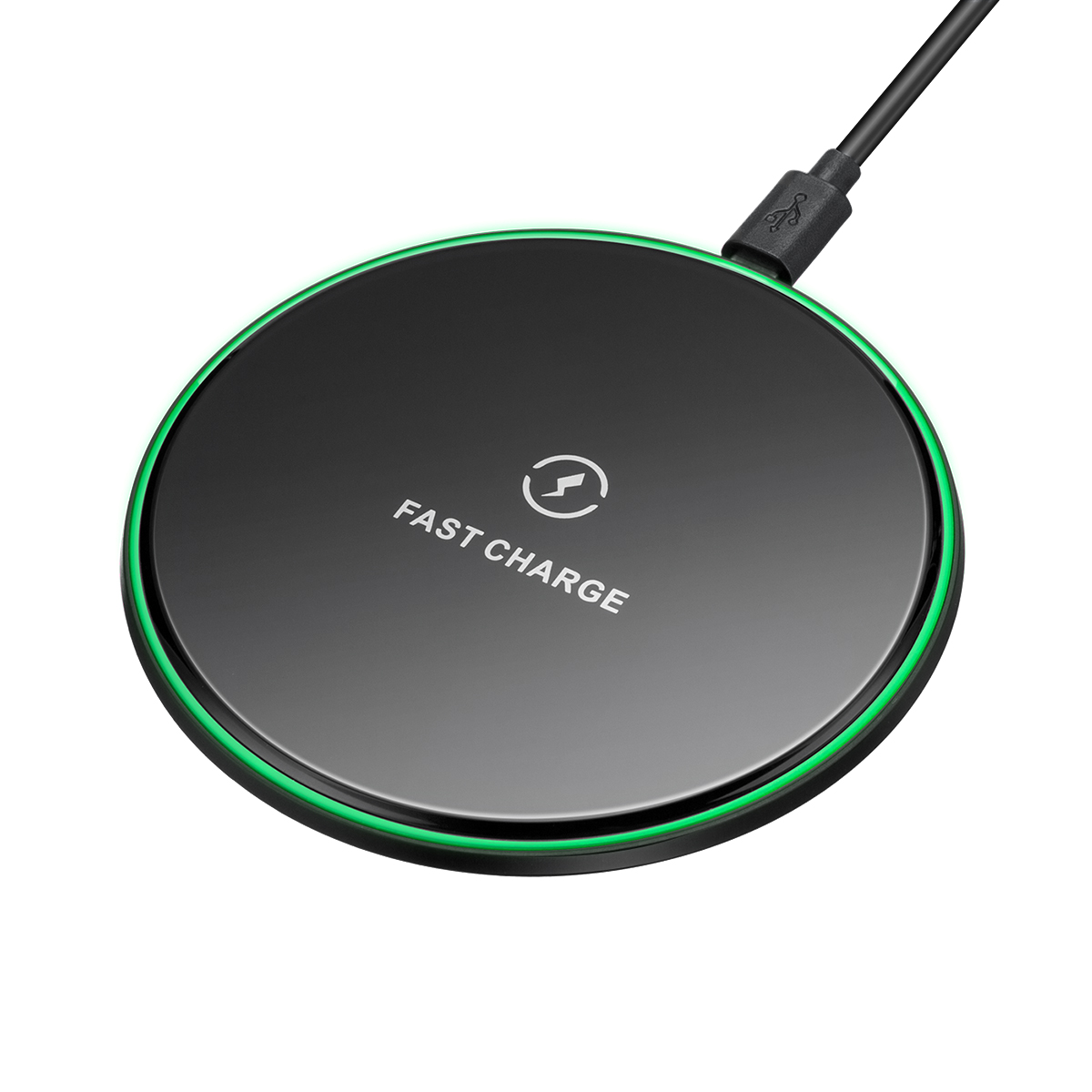 10W Clear Qi Wireless Fast Charger Charging Pad